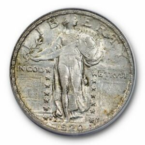 Click now to see the BUY IT NOW Price! 1920 S 25C STANDING LIBERTY QUARTER ANACS AU 53 TEARDROP BREAK VARIETY