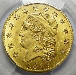 Click now to see the BUY IT NOW Price! 1813 PCGS/CAC MS64  $5 CAPPED BUST GOLD   BEAUTIFUL RARITY
