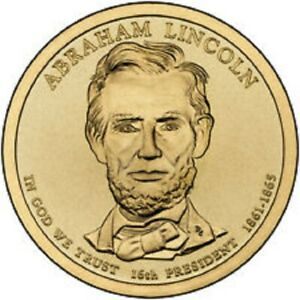 2010 D PRESIDENTIAL DOLLAR BRILLIANT UNCIRCULATED COIN US   ABRAHAM LINCOLN