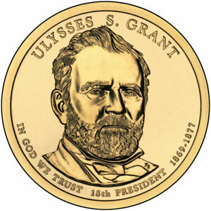 2011 D PRESIDENTIAL DOLLAR BRILLIANT UNCIRCULATED COIN US   ULYSSES GRANT