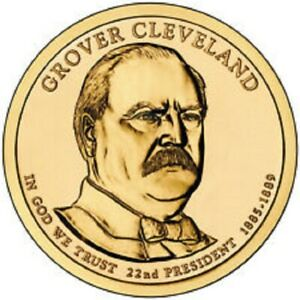2012 D PRESIDENTIAL DOLLAR BRILLIANT UNCIRCULATED COIN US   GROVER CLEVELAND 1ST
