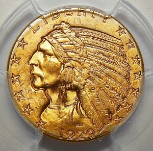 Click now to see the BUY IT NOW Price! 1929 PCGS MS64 $5 INDIAN HEAD GOLD