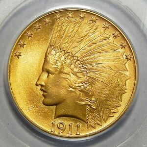 Click now to see the BUY IT NOW Price! 1911 PCGS MS65 $10 INDIAN HEAD GOLD