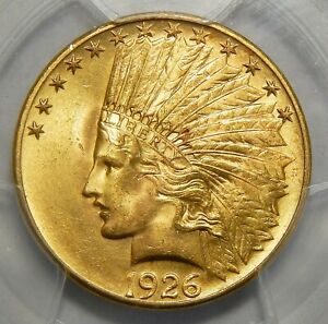 Click now to see the BUY IT NOW Price! 1926 PCGS MS65 $10 INDIAN HEAD GOLD