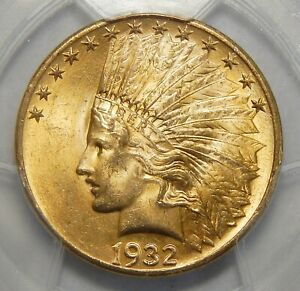 Click now to see the BUY IT NOW Price! 1932 PCGS MS65 $10 INDIAN HEAD GOLD