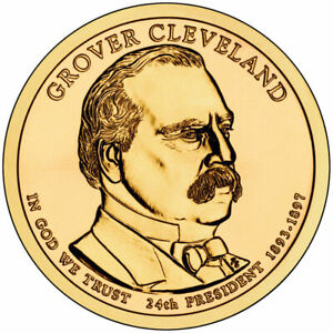 2012 D GROVER CLEVELAND 2ND PRESIDENTIAL DOLLAR BRILLIANT UNCIRCULATED COIN US