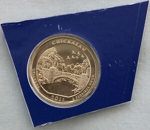 2011 P CHICKASAW ATB UNCIRCULATED QUARTER IN ORIGINAL MINT HOLDER  9562