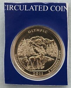 2011 P OLYMPIC ATB UNCIRCULATED QUARTER IN ORIGINAL MINT HOLDER  9562