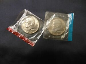 1971 P & D KENNEDY HALF DOLLARS FROM MINT SETS. NICE COINS
