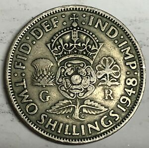 C257    GREAT BRITAIN     COIN     FLORIN    1948