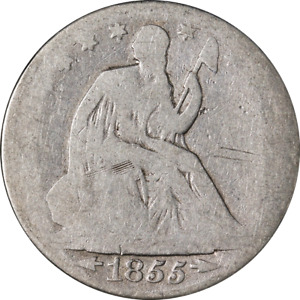 1855 O SEATED HALF DOLLAR GREAT DEALS FROM THE EXECUTIVE COIN COMPANY   BBHE6261