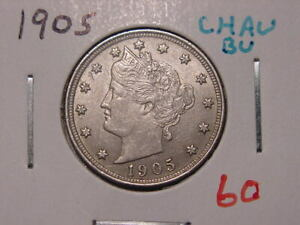 1905 LIBERTY NICKEL CHOICE AU NICE ATTRACTIVE HIGHER GRADE COIN
