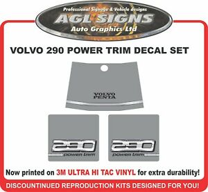 VOLVO PENTA  290 power trim  Stern Drive   Sticker  - EUR 20.09