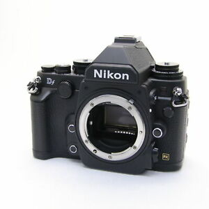 NIKON DF 16.2MP DIGITAL SLR CAMERA BODY  NEAR MINT  SHUTTER COUNT 7174 SHOTS