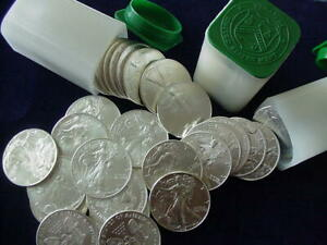 Click now to see the BUY IT NOW Price! 2012 2013 2014 2015 2016 AMERICAN SILVER EAGLE DOLLAR ROLL BU 100 COIN LOT