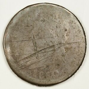 1810 LARGE CENT.  CIRCULATED.  144097