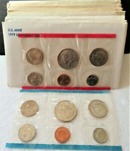 1979 UNITED STATES UNCIRCULATED MINT SET COMPETE