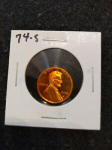 1974 S US PROOF LINCOLN CENT