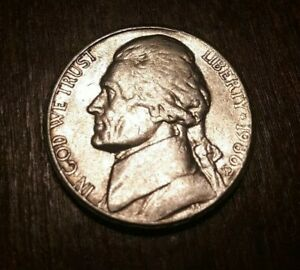 1986 P JEFFERSON NICKEL WITH MINT ERROR