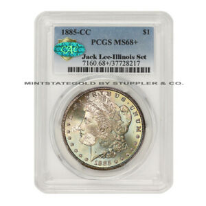 Click now to see the BUY IT NOW Price! FINEST KNOWN 1885 CC $1 SILVER MORGAN PCGS MS68  CAC CARSON CITY ILLINOIS SET