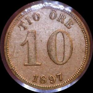 Click now to see the BUY IT NOW Price! SWEDEN 1897 10 ORE