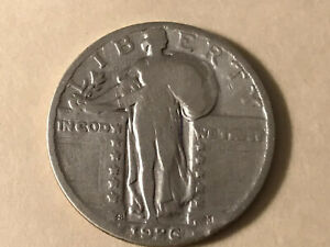1926 S STANDING LIBERTY QUARTER   NICELY CIRCULATED CONDITION