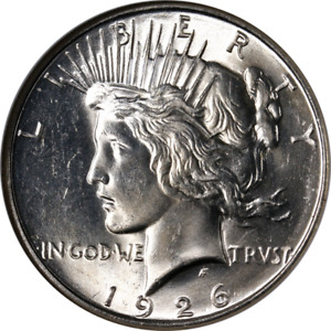 1926 D PEACE DOLLAR NGC MS64 GREAT EYE APPEAL STRONG STRIKE