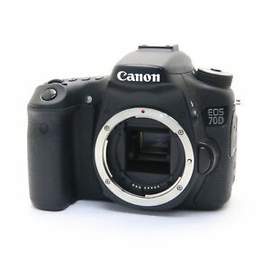 CANON EOS 70D 20.2MP DIGITAL SLR CAMERA BODY