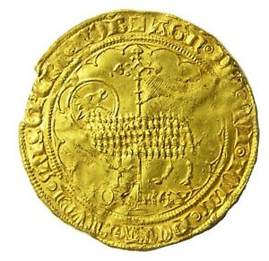 Click now to see the BUY IT NOW Price! 1355 AD MEDIEVAL FRANCE GOLD AGNEL MOUTON DOR OF KING JOHN II 1350   1364 A.D.