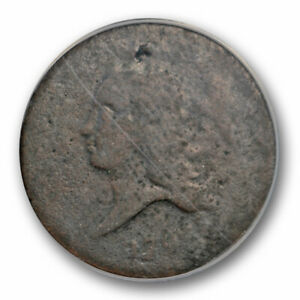 1793 1/2C LIBERTY CAP HALF CENT ANACS FR 2 FAIR GRADE EARLY AMERICAN COPPER