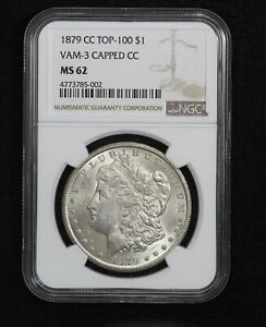 Click now to see the BUY IT NOW Price! 1879 CC MORGAN DOLLAR NGC MS62 VAM 3 CAPPED CC TOP 100