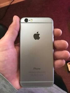 APPLE IPHONE 6   32GB   SPACE GRAY  FIDO  A1549  GSM   CA