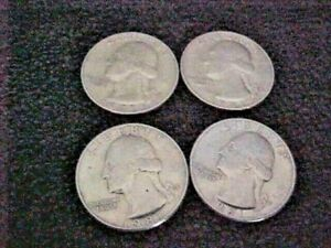 1981 P D Washington Quarters From Uncirculated Mint Sets Combined Shipping