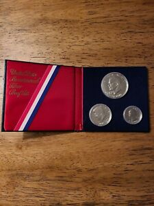 Nice Original Packaging No stickers or writing 1976 US 40/% Silver Proof Set
