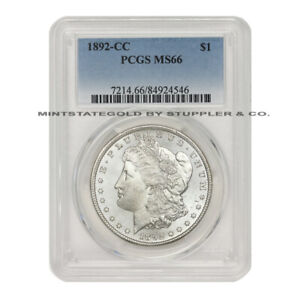 Click now to see the BUY IT NOW Price! KEY DATE 1892 CC $1 MORGAN PCGS MS66 GEM GRADED CARSON CITY SILVER DOLLAR COIN