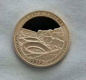 2012 S CHACO CULTURE CLAD PROOF ATB QUARTER CAMEO
