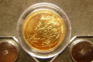 2012 D ACADIA AMERICA THE BEAUTIFUL QUARTERS 24K GOLD LAYERED