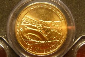 2012 D CHACO CULTURE AMERICA THE BEAUTIFUL QUARTERS 24K GOLD LAYERED