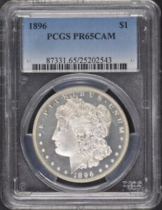 Click now to see the BUY IT NOW Price! 1896 $1 MORGAN DOLLAR PCGS PR65CAM