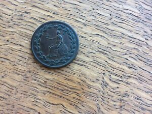 HALFPENNY TOKEN 19TH CENTURY   BRITISH COPPER COMPANY 1813   W.612