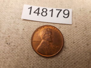 1945 D LINCOLN WHEAT CENT RAW UNSLABBED RAW COLLECTOR ALBUM COIN    148179