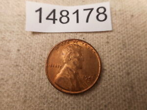 1945 D LINCOLN WHEAT CENT RAW UNSLABBED RAW COLLECTOR ALBUM COIN    148178