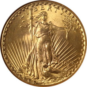 1926 P SAINT GAUDENS GOLD $20 NGC MS64 GREAT EYE APPEAL STRONG STRIKE