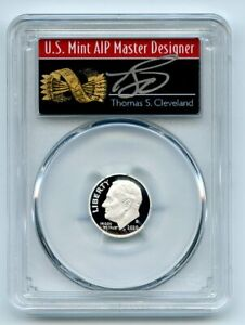 2020 S 10C SILVER ROOSEVELT DIME PCGS PR70DCAM FIRST STRIKE CLEVELAND ARROWS