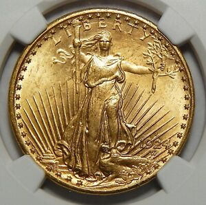 Click now to see the BUY IT NOW Price! 1924 S NGC MS65  $20 ST. GAUDEN