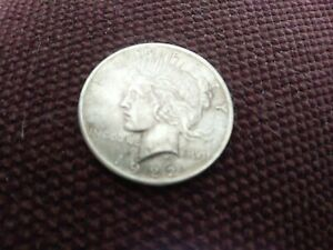 1922 P PEACE DOLLAR 90  SILVER AU/UNCIRCULATED