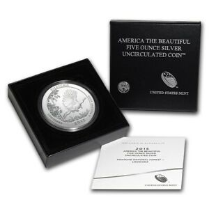 Click now to see the BUY IT NOW Price! LOT OF 5   2015 P KISATCHIE NATIONAL PARK AMERICA THE BEAUTIFUL 5OZ SILVER SN2