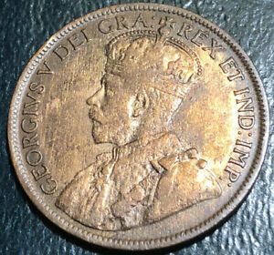 1916. CANADA LARGE CENT