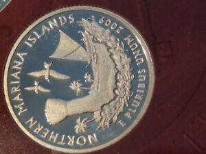 2009 S NORTHERN MARIANA ISLANDS  90  SILVER PROOF   QUARTER