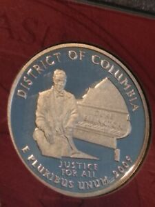 2009 S SILVER DISTRICT OF COLUMBIA DEEP CAMEO GEM PROOF